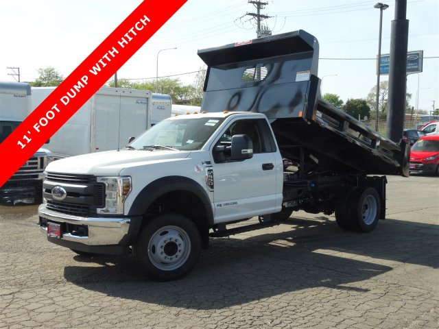 2018 F-550 Regular Cab DRW 4x2,  Rugby Eliminator LP Steel Dump Body #6381 - photo 1