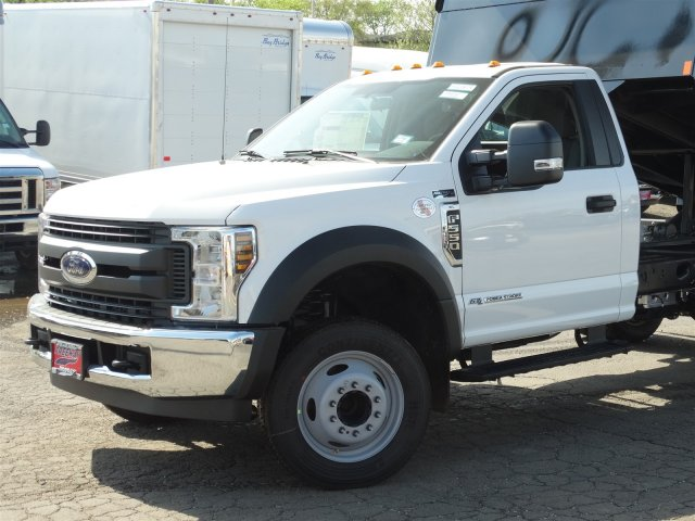 2018 F-550 Regular Cab DRW 4x2,  Rugby Eliminator LP Steel Dump Body #6381 - photo 3