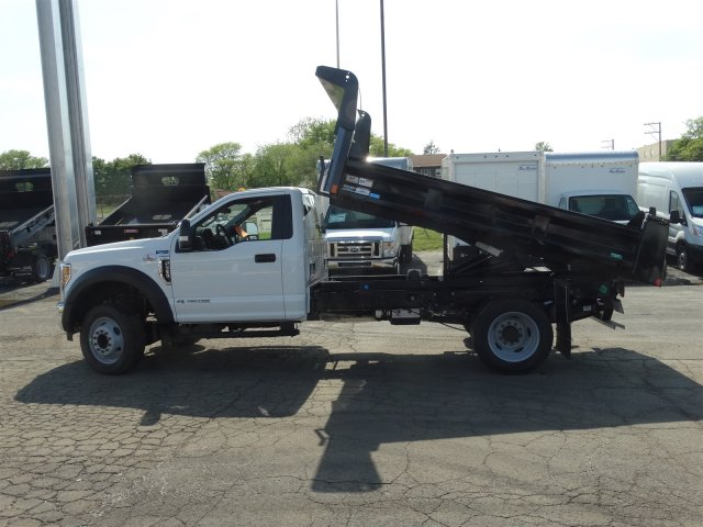 2018 F-550 Regular Cab DRW 4x2,  Rugby Eliminator LP Steel Dump Body #6381 - photo 8