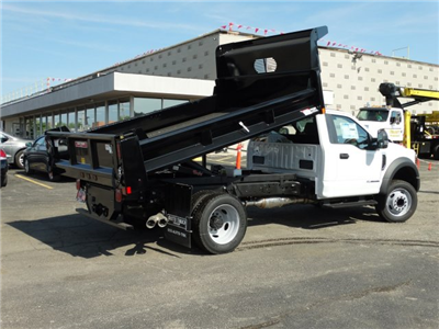 2018 F-550 Regular Cab DRW 4x2,  Rugby Eliminator LP Steel Dump Body #6381 - photo 2