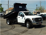 2018 F-550 Regular Cab DRW 4x2,  Rugby Eliminator LP Steel Dump Body #6381 - photo 6
