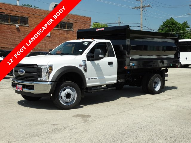 2018 F-450 Regular Cab DRW 4x2,  Rugby Landscape Dump #6385 - photo 3