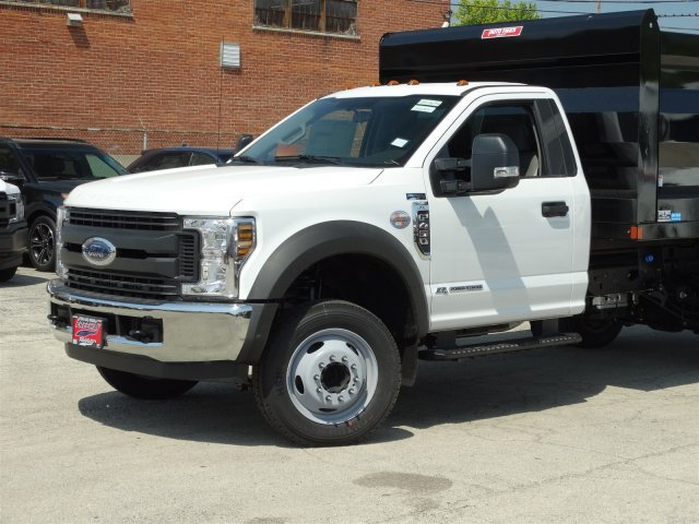 2018 F-450 Regular Cab DRW 4x2,  Rugby Landscape Dump #6385 - photo 4