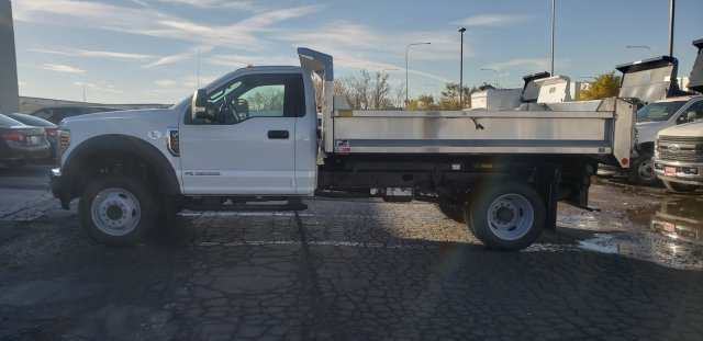 2019 F-450 Regular Cab DRW 4x2,  Monroe Dump Body #6393 - photo 3