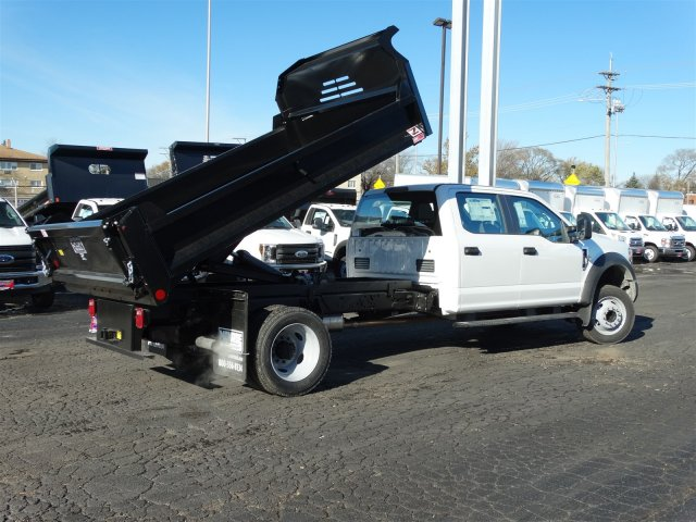2019 F-450 Crew Cab DRW 4x2,  Monroe MTE-Zee Dump Body #6404 - photo 2
