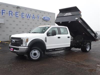 2019 F-450 Crew Cab DRW 4x2,  Monroe MTE-Zee Dump Body #6404 - photo 3
