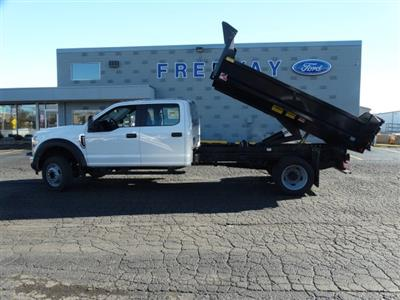 2019 F-450 Crew Cab DRW 4x2,  Monroe MTE-Zee Dump Body #6404 - photo 12