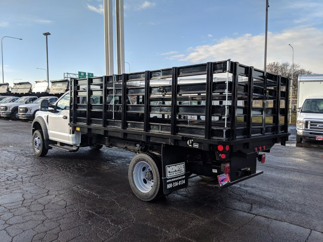 2019 F-450 Regular Cab DRW 4x4,  Stake Bed #6433 - photo 2