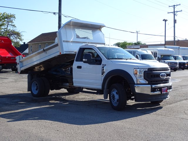 2020 Ford F-450 Regular Cab DRW 4x4, Rowe Truck Equipment Dump Body #6576 - photo 1