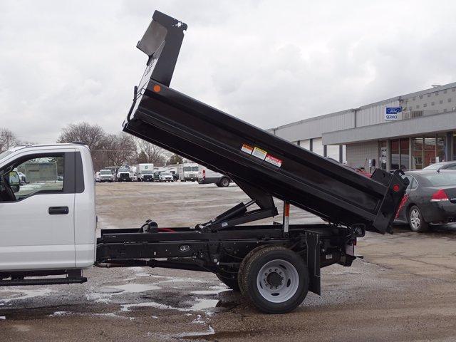 2021 Ford F-550 Regular Cab DRW 4x4, Reading Dump Body #6627 - photo 1