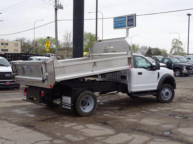 2021 Ford F-550 Regular Cab DRW 4x4, Monroe Dump Body #6667 - photo 1