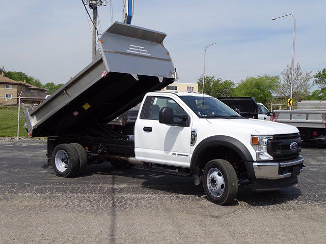 2021 Ford F-450 Regular Cab DRW 4x4, Monroe Dump Body #6673 - photo 1