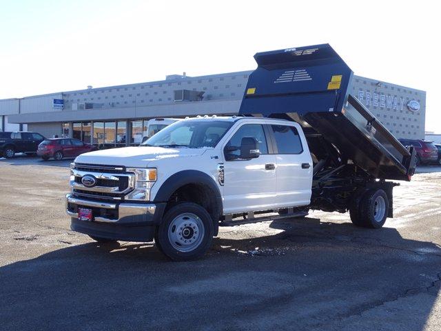 2021 Ford F-450 Crew Cab DRW 4x4, Crysteel Dump Body #6647 - photo 1