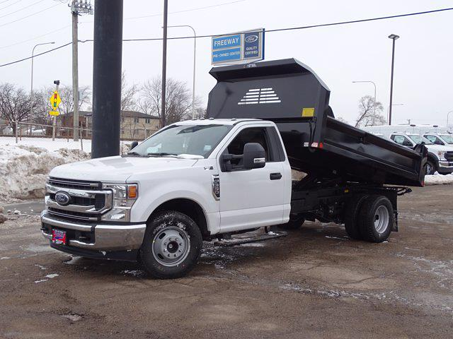 2021 Ford F-350 Regular Cab DRW 4x2, Crysteel Dump Body #1359 - photo 1