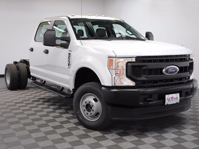 2021 Ford F-350 Crew Cab DRW 4x4, Cab Chassis #110869 - photo 1