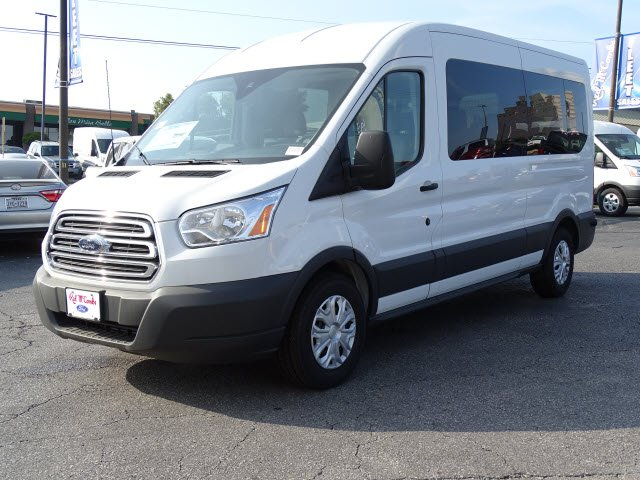 2018 Transit 350 Med Roof 4x2,  Passenger Wagon #812164 - photo 3