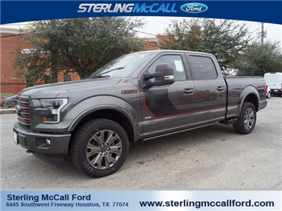 2017 F-150 Crew Cab 4x4, Pickup #HFC62155 - photo 1