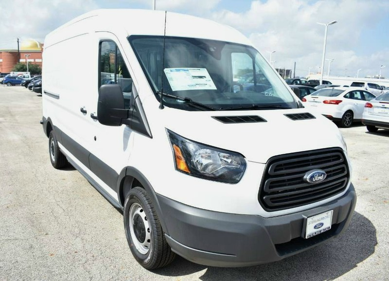 2018 Transit 250 Med Roof 4x2,  Empty Cargo Van #JKA42065 - photo 4