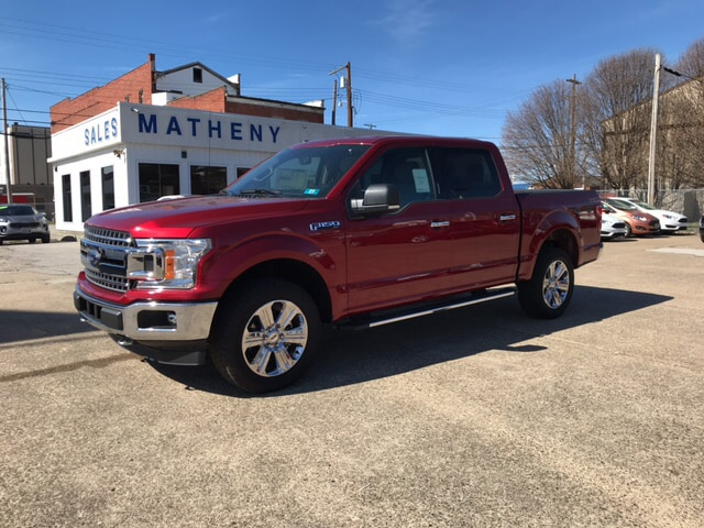 2018 F-150 SuperCrew Cab 4x4,  Pickup #B25217 - photo 1