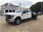 2018 F-350 Crew Cab DRW 4x4,  Reading Platform Body #B92685 - photo 1