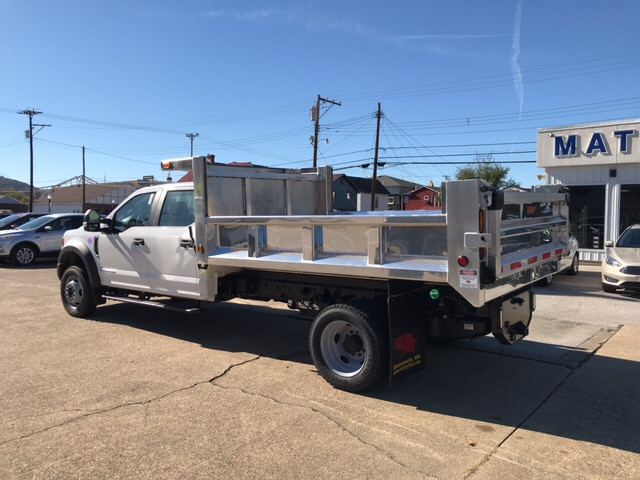 2017 F-550 Crew Cab DRW 4x4,  Conley Fabrications Dump Body #E69254 - photo 2