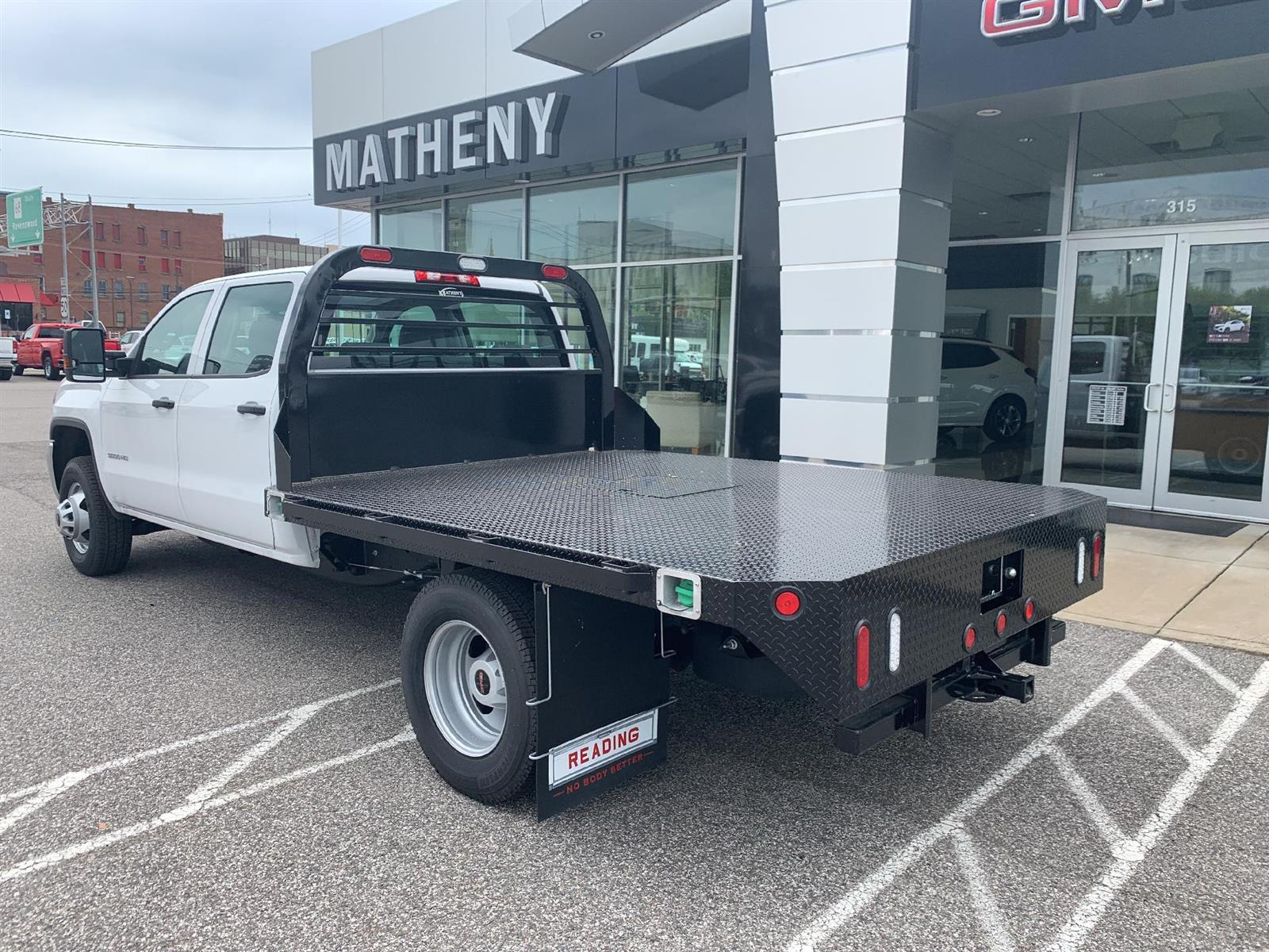 2019 GMC Sierra 3500 Crew Cab DRW 4x4, Reading Redi-Dek Platform Body #254765 - photo 2