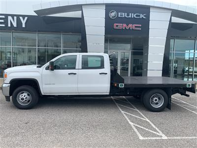 2019 GMC Sierra 3500 Crew Cab DRW 4x4, Reading Redi-Dek Platform Body #254765 - photo 3