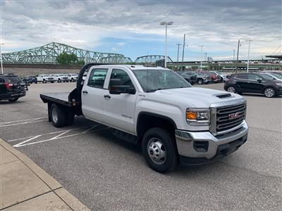 2019 GMC Sierra 3500 Crew Cab DRW 4x4, Reading Redi-Dek Platform Body #254765 - photo 5
