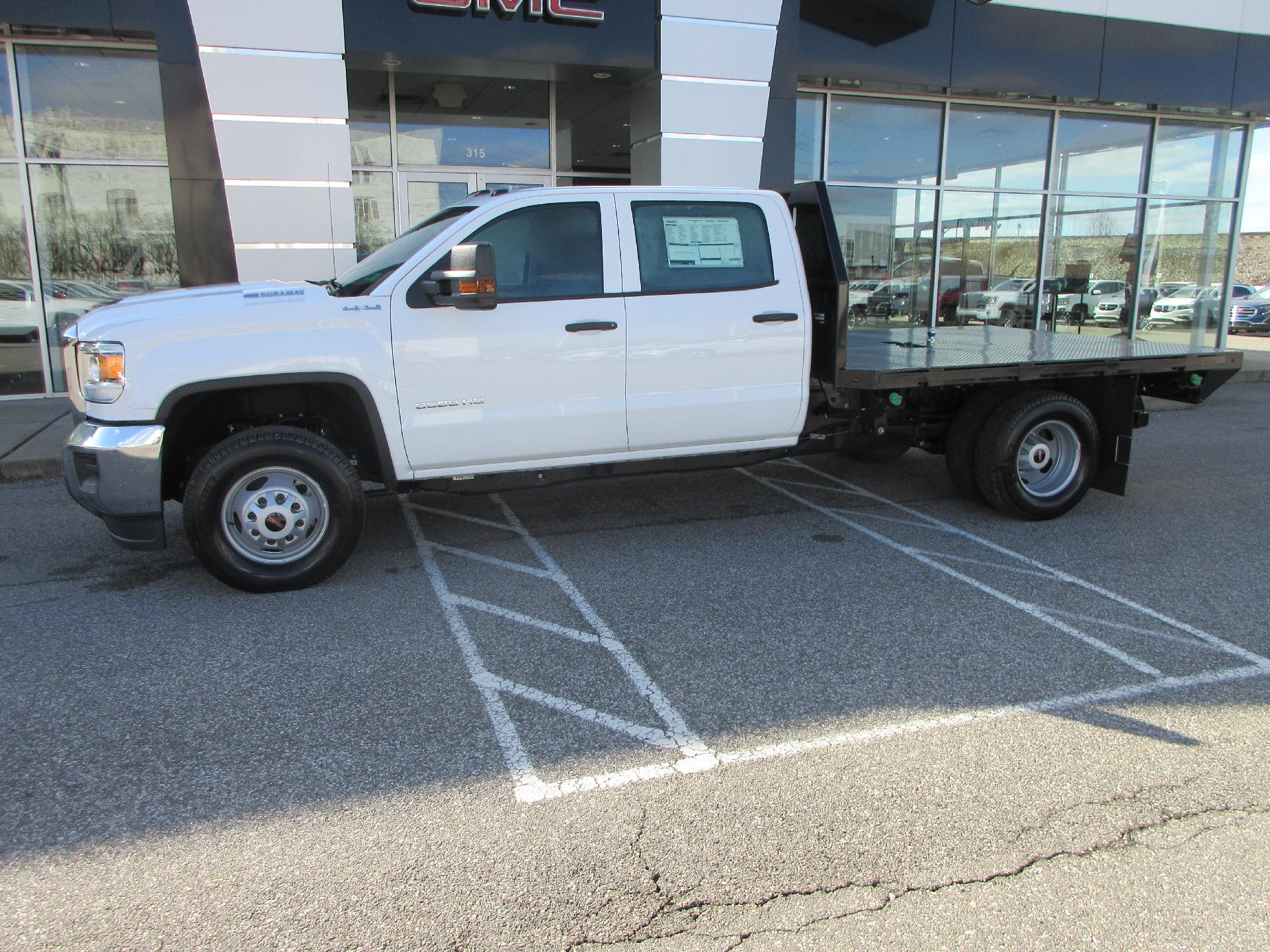 2019 Sierra 3500 Crew Cab DRW 4x4, Platform Body #261320 - photo 1