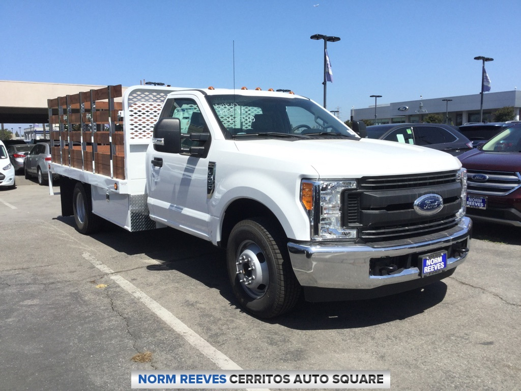 2017 F-350 Regular Cab DRW 4x2,  Scelzi Stake Bed #172260 - photo 3