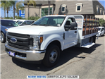 2017 F-350 Regular Cab DRW 4x2,  Scelzi Stake Bed #172260 - photo 1
