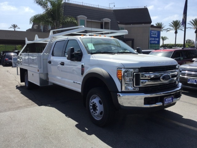 2017 F-550 Crew Cab DRW 4x2,  Scelzi WFB Stake Bed #172964 - photo 1