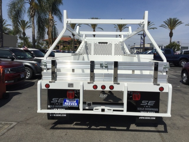 2017 F-550 Crew Cab DRW 4x2,  Scelzi WFB Stake Bed #172964 - photo 6