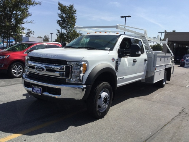 2017 F-550 Crew Cab DRW 4x2,  Scelzi Contractor Body #172964 - photo 3