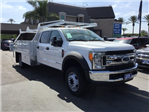 2017 F-550 Crew Cab DRW 4x2,  Scelzi Contractor Body #172964 - photo 1