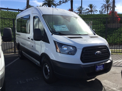 2018 Transit 150 Med Roof, Passenger Wagon #180445 - photo 4