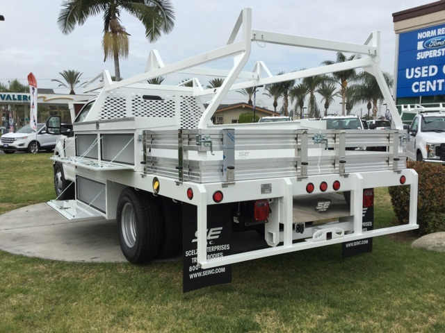 2018 F-350 Regular Cab DRW 4x2,  Scelzi Contractor Body #180675 - photo 2