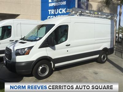 2018 Transit 250 Med Roof 4x2,  Empty Cargo Van #180914 - photo 1