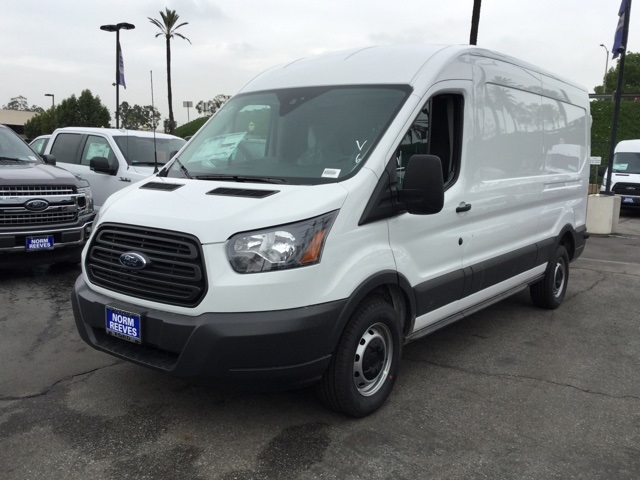 2018 Transit 250 Med Roof,  Upfitted Cargo Van #180929 - photo 1