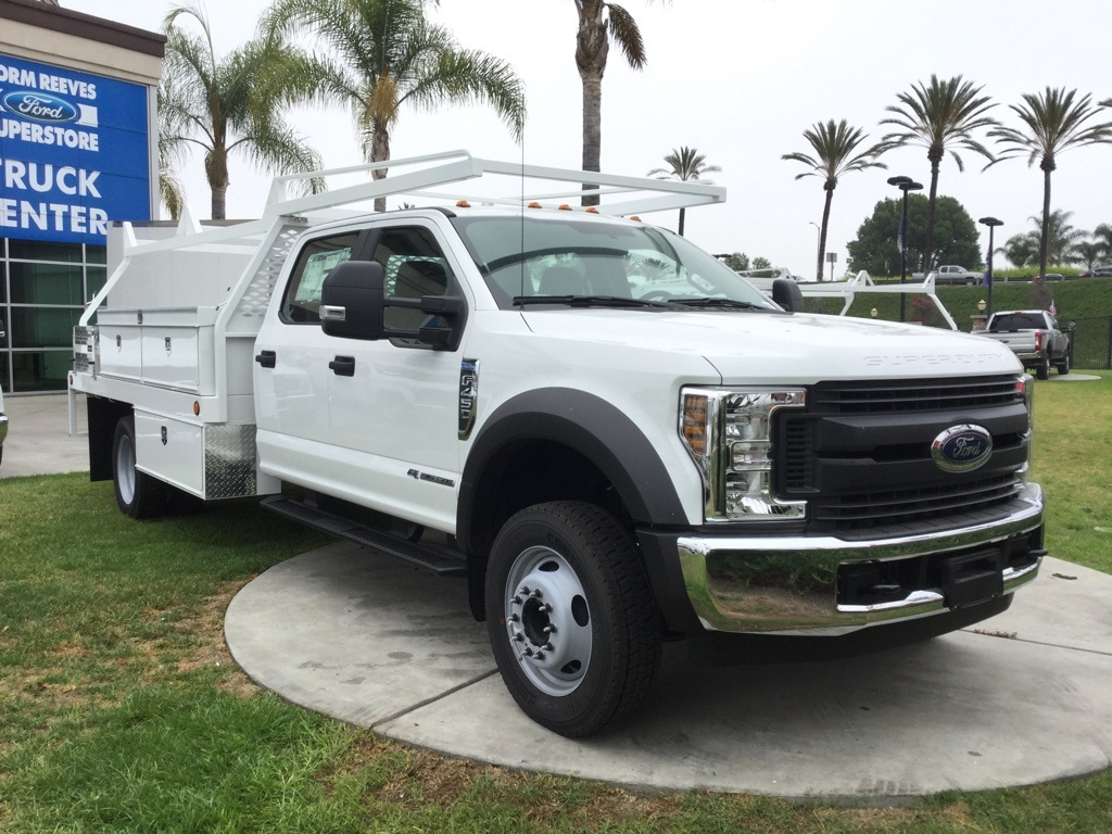 2018 F-450 Crew Cab DRW 4x2,  Scelzi Contractor Body #181265 - photo 3