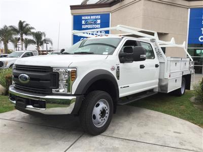 2018 F-450 Crew Cab DRW 4x2,  Scelzi CTFB Contractor Body #181265 - photo 1