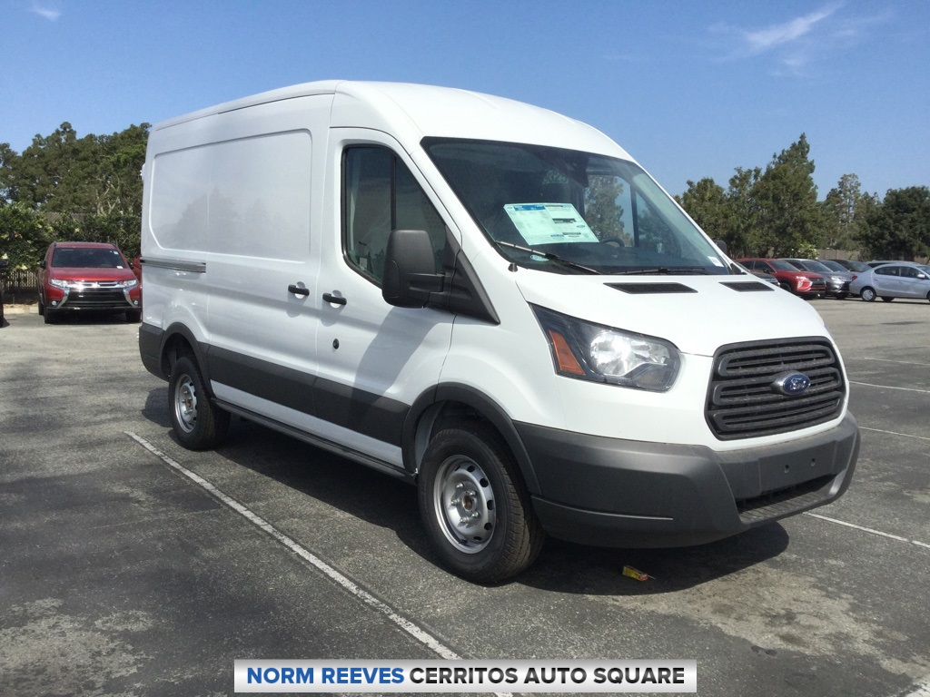 2018 Transit 250 Med Roof 4x2,  Empty Cargo Van #181420 - photo 3