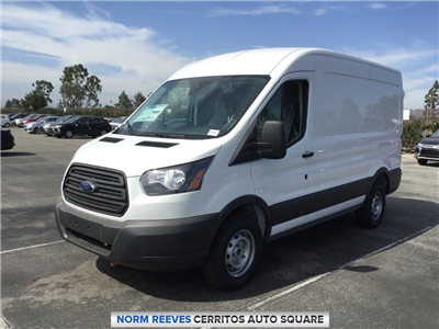 2018 Transit 250 Med Roof 4x2,  Empty Cargo Van #181420 - photo 1