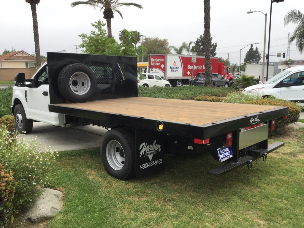 2018 F-350 Regular Cab DRW 4x2,  Harbor Platform Body #181427 - photo 2