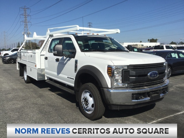 2018 F-450 Crew Cab DRW 4x2,  Scelzi Contractor Body #181679 - photo 3