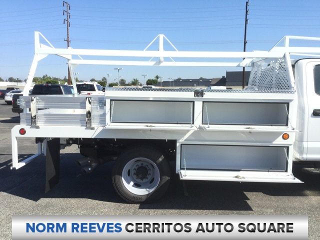 2018 F-450 Crew Cab DRW 4x2,  Scelzi CTFB Contractor Body #181679 - photo 5
