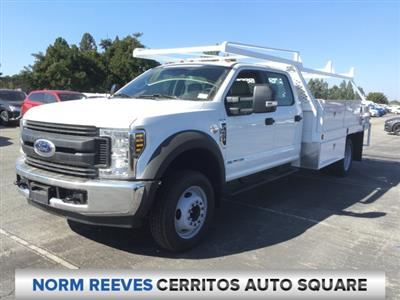 2018 F-450 Crew Cab DRW 4x2,  Scelzi CTFB Contractor Body #181679 - photo 1