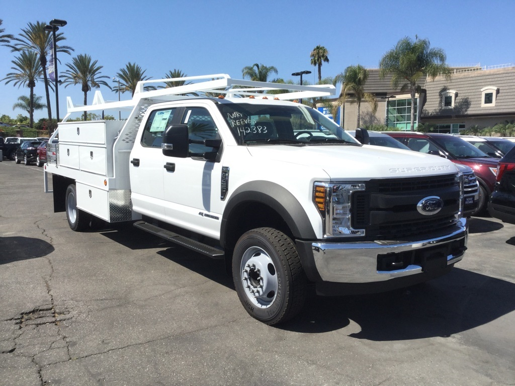 2018 F-450 Crew Cab DRW 4x2,  Scelzi Contractor Body #181698 - photo 3