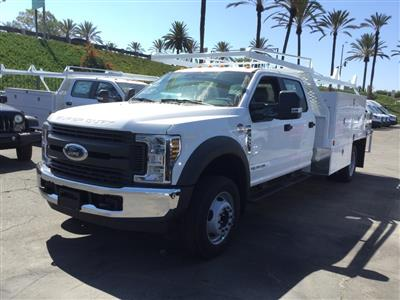 2018 F-450 Crew Cab DRW 4x2,  Scelzi CTFB Contractor Body #181698 - photo 1