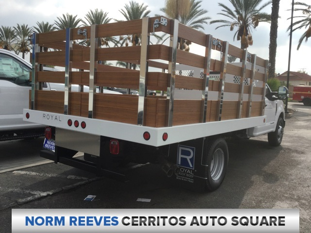 2019 F-350 Regular Cab DRW 4x2,  Royal Stake Bed #190170 - photo 2